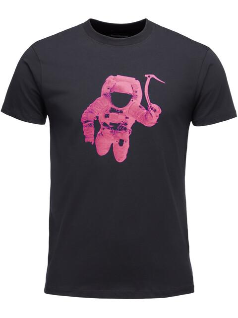 Black Diamond Spaceshot - T-shirt manches courtes Homme - rose/noir